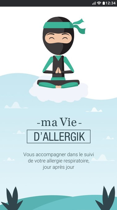 Application Ma Vie d'Allergik